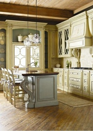 Popular French Country Kitchen Decoration Ideas For Home35