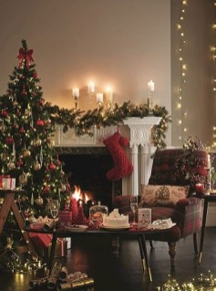 Romantic Rustic Christmas Decoration Ideas05