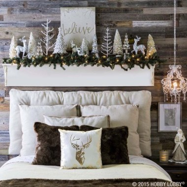 Romantic Rustic Christmas Decoration Ideas06