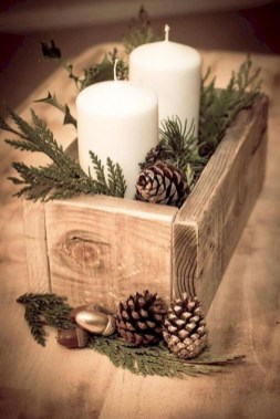 Romantic Rustic Christmas Decoration Ideas07