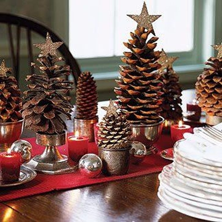 Romantic Rustic Christmas Decoration Ideas32