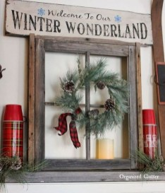 Romantic Rustic Christmas Decoration Ideas40