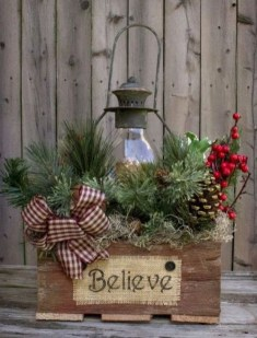 Stylish Diy Outdoor Christmas Decoration Ideas05