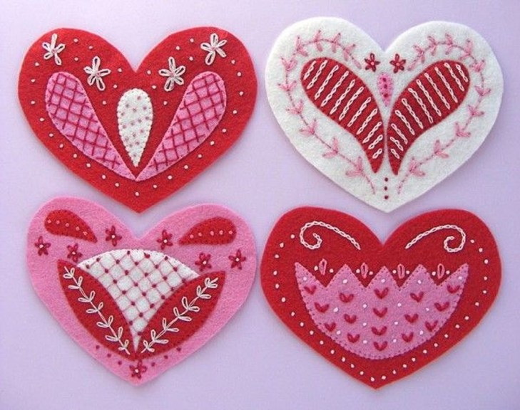 Cheap Diy Ornaments Ideas For Valentines Day31