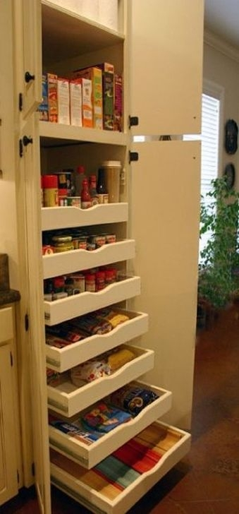Cheap Kitchen Storage Organization Ideas01