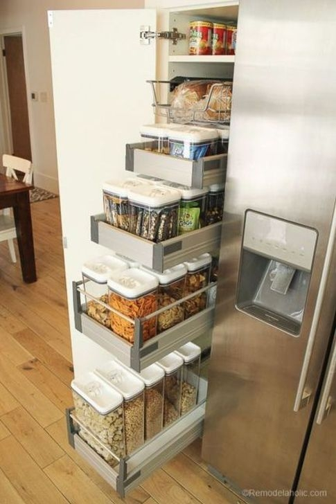 Cheap Kitchen Storage Organization Ideas18