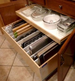 Cheap Kitchen Storage Organization Ideas30