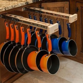 Cheap Kitchen Storage Organization Ideas43