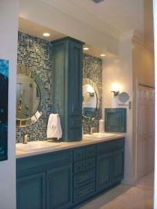 Cozy Coastal Style Nautical Bathroom Designs Ideas05