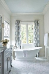 Cozy Coastal Style Nautical Bathroom Designs Ideas25