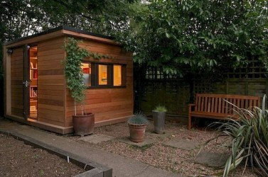 Fascinating Diy Backyard Studio Shed Remodel Design Decor Ideas04