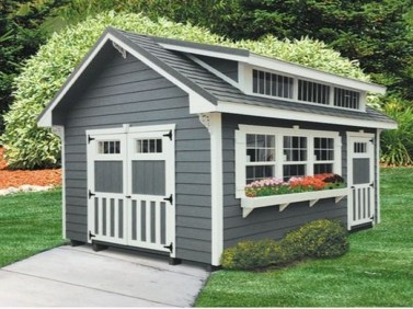 Fascinating Diy Backyard Studio Shed Remodel Design Decor Ideas05