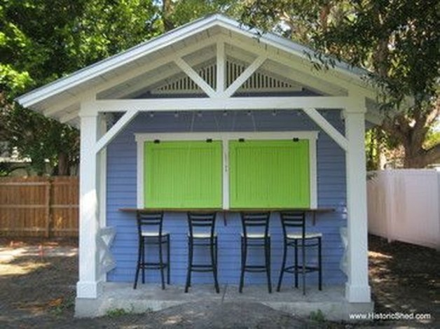 Fascinating Diy Backyard Studio Shed Remodel Design Decor Ideas16