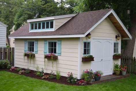 Fascinating Diy Backyard Studio Shed Remodel Design Decor Ideas30