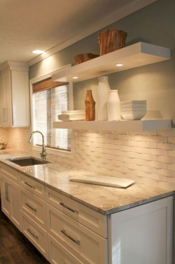 Fascinating Kitchen Backsplash Decoration Ideas For Your Kitchen43