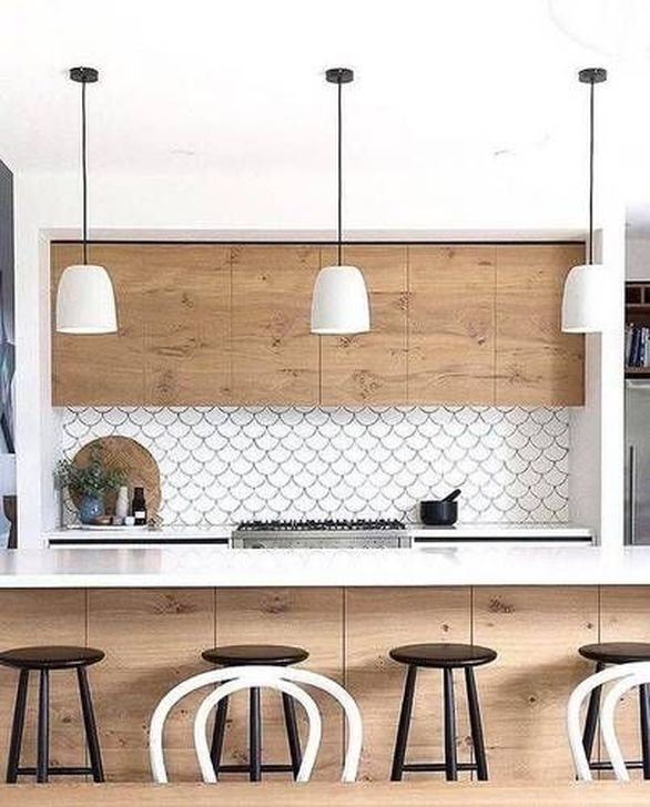 Fascinating Kitchen Backsplash Decoration Ideas For Your Kitchen45