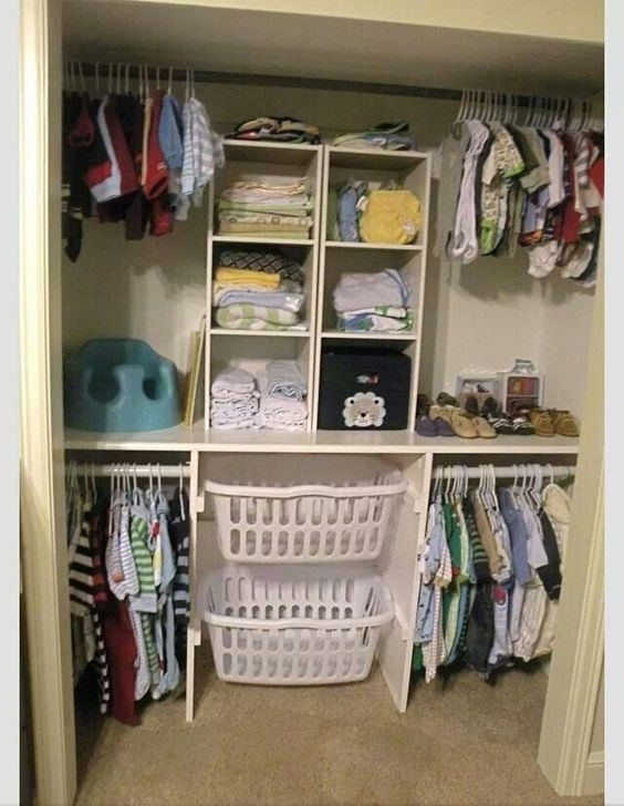 Magnificient Kids Closet Organization Ideas16