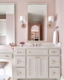 Pretty Master Bathroom Decoration Ideas For Valentines Day17