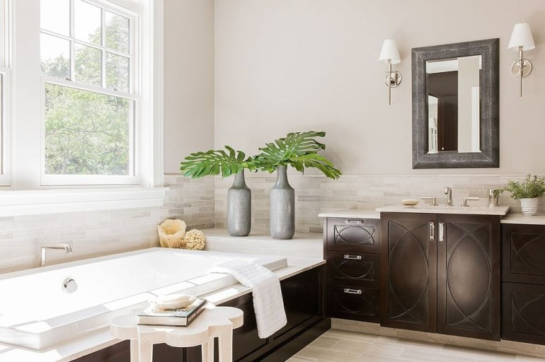 Pretty Master Bathroom Decoration Ideas For Valentines Day42