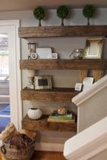 Stunning Diy Floating Shelves Living Room Decorating Ideas28
