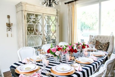 Stunning Table Decoration Ideas For Valentine'S Day02