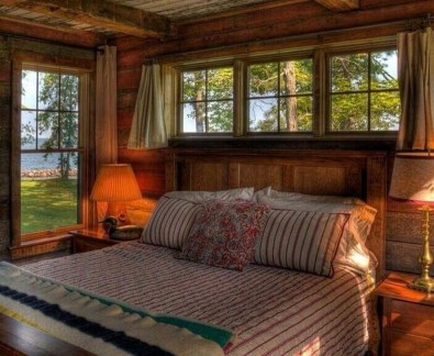 Affordable Lake House Bedroom Decorating Ideas19