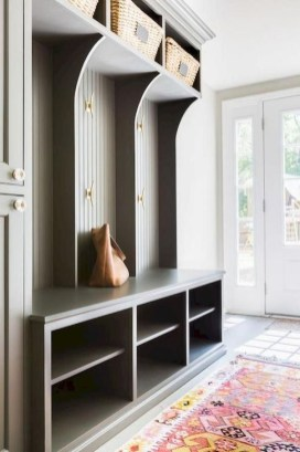 Awesome Rustic Mudroom Bench Decorating Ideas On A Budget44