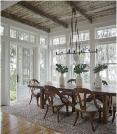 Captivating Farmhouse Dining Room Table Decorating Ideas20