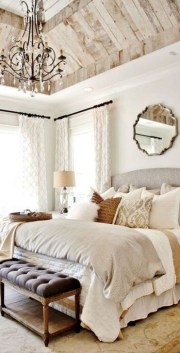 Comfy Urban Farmhouse Master Bedroom Design Ideas33