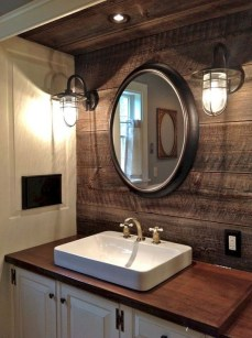 Cute Farmhouse Bathroom Remodel Ideas On A Budget23
