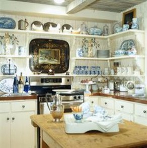 Latest French Country Kitchen Design Ideas38