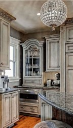 Latest French Country Kitchen Design Ideas40