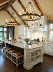 Latest French Country Kitchen Design Ideas42