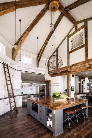 Latest French Country Kitchen Design Ideas44