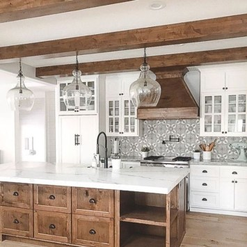 Amazing Farmhouse Kitchen Design Ideas18