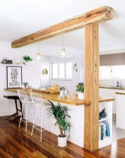 Amazing Living Rooms Design Ideas With Exposed Wooden Beams 28