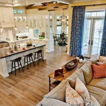 Attractive Open Concept Ideas For Living Room42