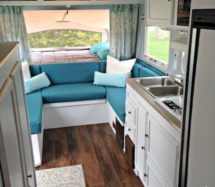 Awesome Full Time Rv Living Ideas With Camper Organization Tips Tricks01