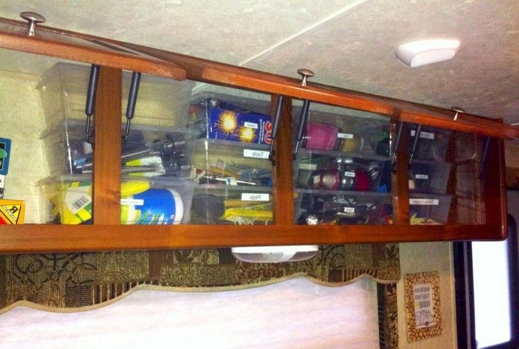 Awesome Full Time Rv Living Ideas With Camper Organization Tips Tricks19