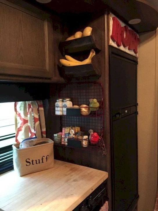 Awesome Full Time Rv Living Ideas With Camper Organization Tips Tricks23