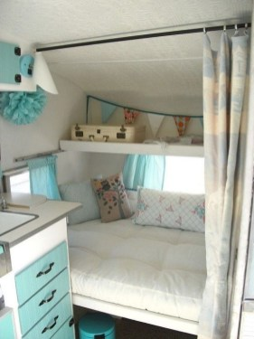 Awesome Full Time Rv Living Ideas With Camper Organization Tips Tricks38