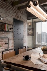 Beautiful Industrial Furniture Design Ideas With Wood 25
