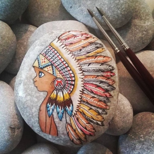 Best Rock Painting Design Ideas46
