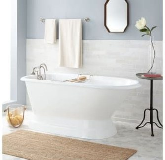 Cool Bathrooms Ideas With Clawfoot Tubs06