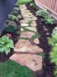 Enchanting Front Of House Landscaping Ideas33