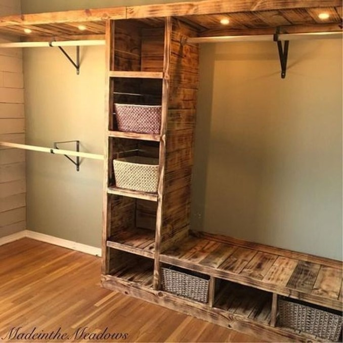 Impressive Walk In Closet Organization Ideas41