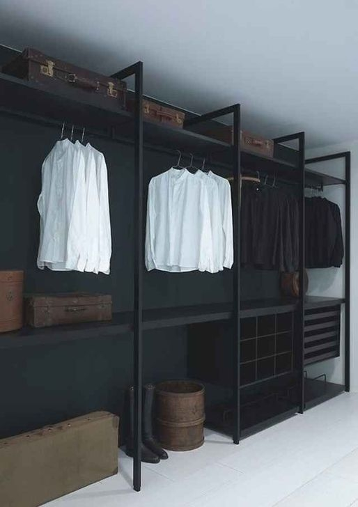 Impressive Walk In Closet Organization Ideas45