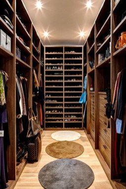 Impressive Walk In Closet Organization Ideas46