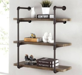 Inexpensive Diy Pipe Shelves Ideas On A Budget42