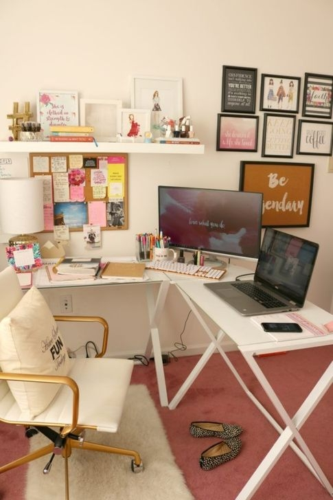 Unique Diy Home Office Decor Ideas07